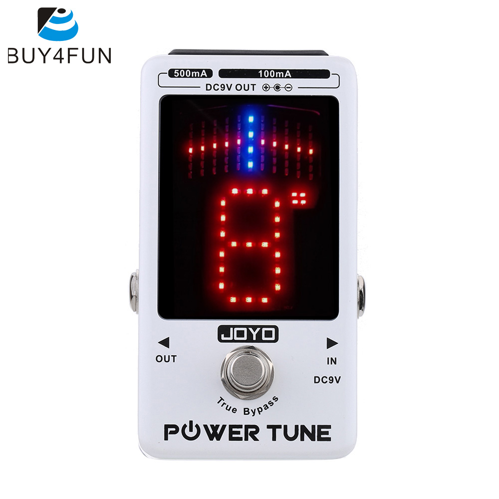 Top Quality JOYO Electric Guitar Bass Tuner & 8 Port Multi-power Power Supplier Effect Power Tune True Bypass(China (Mainland))