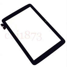 Black Free shipping Touch Screen Digitizer outer Glass (NO LCD) For LG V700 G Pad 10.1 VK700 Tablet Tracking code(China (Mainland))