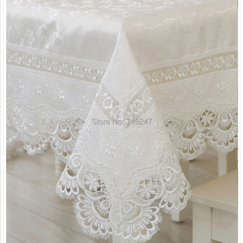 High Quality Hot Sale Elegant Polyester Lace Tablecloths Peacock Wedding Table Linen Cloth Covers Home Decoration Textiles 078(China (Mainland))