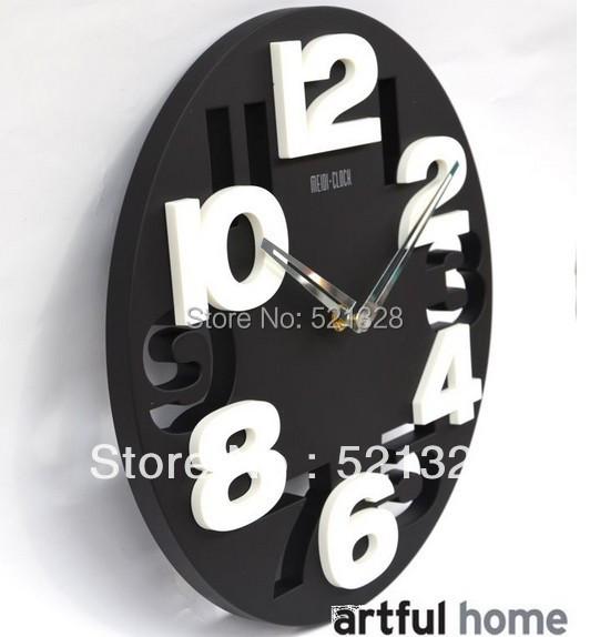 все цены на Настенные часы No brand 3D F179 DIY clock онлайн
