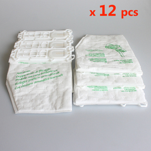 12 pcs/lot vacuum cleaner bags Dust Bag for Vorwerk VK135 VK136 FP135 FP136 KOBOLD135 KOBOLD136 VK369