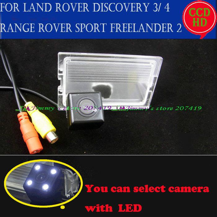 wireless wire for sony ccd LEDS car reverse parking rearview camera for Land Rover Discovery 3 4 Range Rover Sport Freelander 2(China (Mainland))