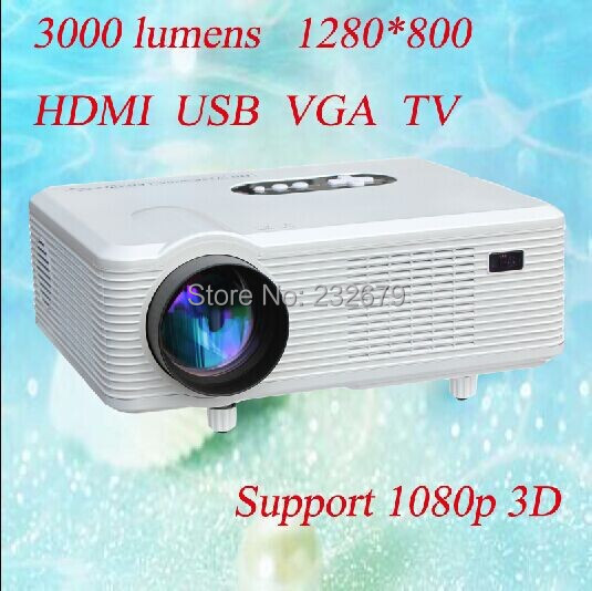 cheerlux hd projector High quality low cost projector hd 1080p mini best cinema digital projectors(China (Mainland))