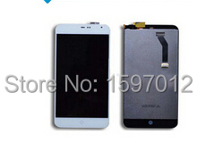 meizu mx2 lcd display with touch glass digitizer assembly replacement black /white color(China (Mainland))