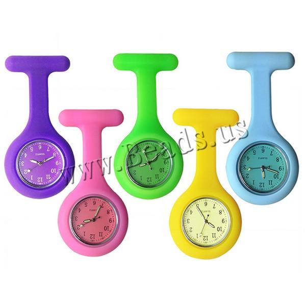 Гаджет  New Nurses Doctor Fob Watch Brooches Silicone Tunic Batteries Medical Nurse Watch None Ювелирные изделия и часы