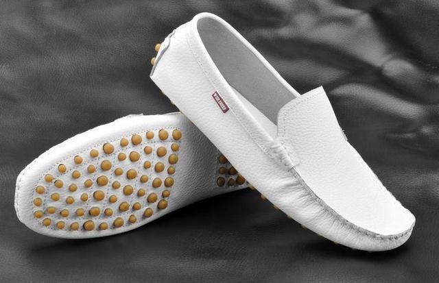 Натуральная кожа вилочная часть gomМини бездельники свободного покроя обувь один ...