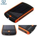 Super high 23000mAh capacity solar power bank 5v 12v 16v 19v mobile charger for laptop ipad