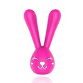 Double Motor Cute Rabbit Vibrator G Spot Btrast Massager Anal Massager Electric Stimulator Erotic Toys For