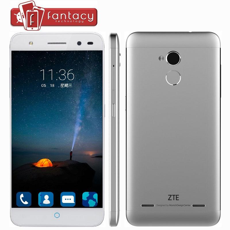 """Original ZTE Blade A2 MTK6750 Octa Core Fingerprint ID 2G RAM FDD LTE 4G+ 5.0 """" HD 1280x720P 13.0MP 2.5D Glass Mobile Phones New(China (Mainland))"""