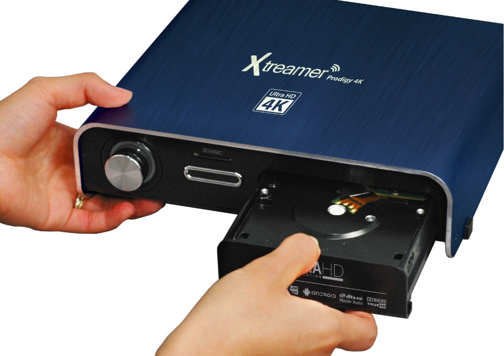 "xtreamer prodigy 4K media player with 3.5"" HDD slot, HDMI in recoding(China (Mainland))"