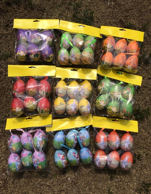 Easter Egg Foam Colored Eggs Gift Easter decoration Simulation DIY Egg Toy Event & Party Supplies(China (Mainland))