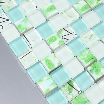 Здесь можно купить  crystal glass mixed ceramic mosaic tiles EHM1072F for kitchen backsplash tile bathroom shower mosaic tiles wall cover crystal glass mixed ceramic mosaic tiles EHM1072F for kitchen backsplash tile bathroom shower mosaic tiles wall cover Строительство и Недвижимость