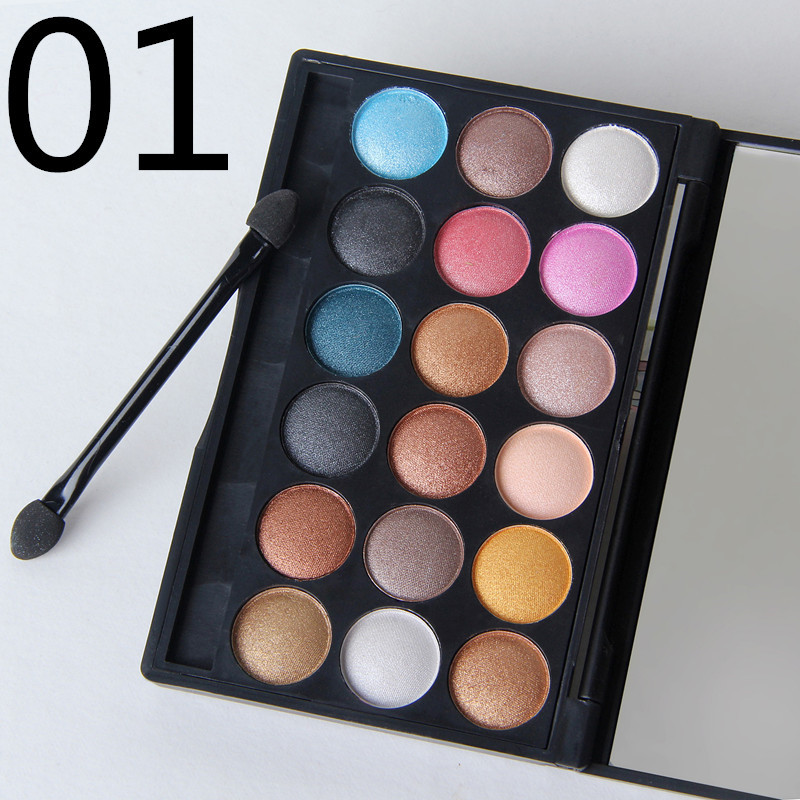 NEW Top MC makeup cosmetics 18-color eyeshadow palette 32g Free shipping(China (Mainland))
