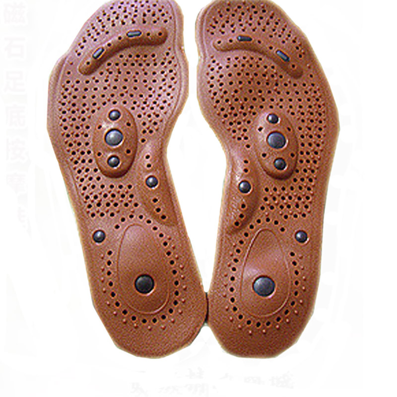 Гаджет  New Arrival Magnetic Therapy Magnet Health Care Foot Massage Insoles Men/ Women Shoe Comfort Pads None Обувь