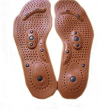 New Arrival Magnetic Therapy Magnet Health Care Foot Massage Insoles Men/ Women Shoe Comfort Pads(China (Mainland))