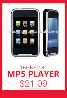 Wholesale 2.8″ MP4 Player 32GB 4G Style Touch Screen MP3 MP4 MP5 Player With Camera FM Game Video