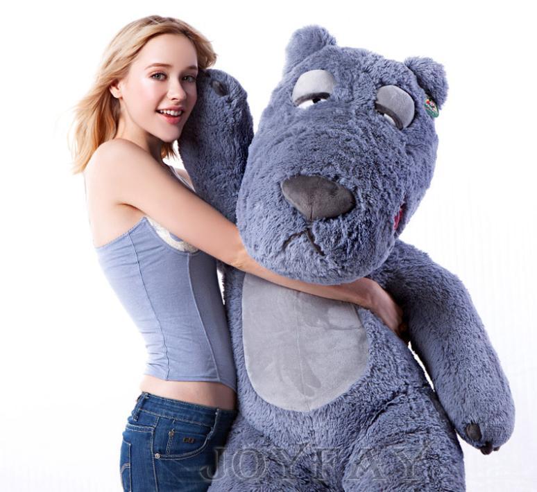 Giant Huge 59'' 59 inch 150 cm Teddy Bear Stuffed Plush Animals Toy Best Valentine Gift(China (Mainland))