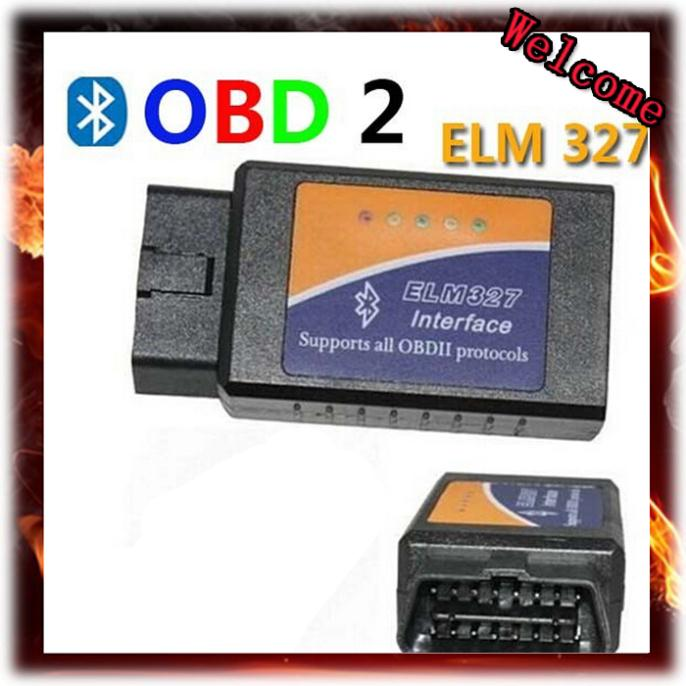 ELM327 Bluetooth OBDII V1.5 CAN-BUS Diagnostic Interface Scanner Bluetooth ELM 327 OBD 2 Car Scan Tool Free Shipping(China (Mainland))