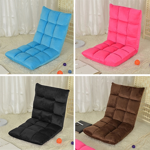 Factory wholesale Warm Multifunctional Lazy Folding Chair LeisureWhite red Adjustable Creative Foldable Beanbag car hotel office(China (Mainland))