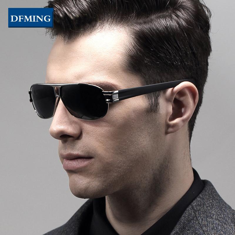 DFMING sunglasses polarized sunglasses men sun glasses fashion driving glasses oculos original famous brand sunglasses for men(China (Mainland))