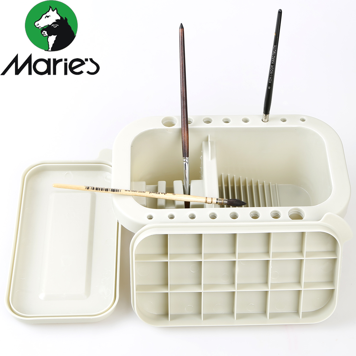 Maries features three piece acrylic painting watercolor gouache wash pen pen washing barrel grey<br><br>Aliexpress