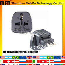 Buy Universal 10A 250V ABS material 3 pin south africa india japan us eu uk italy Uraguay italy travel adaptor plug for $540.55 in AliExpress store