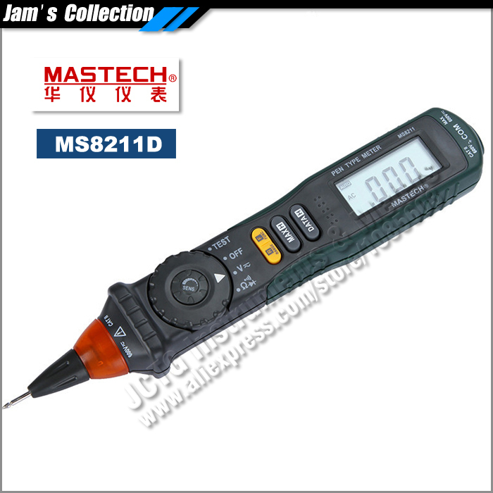Clip On Voltage Tester : Professional mastech ms pen type digital multimeter