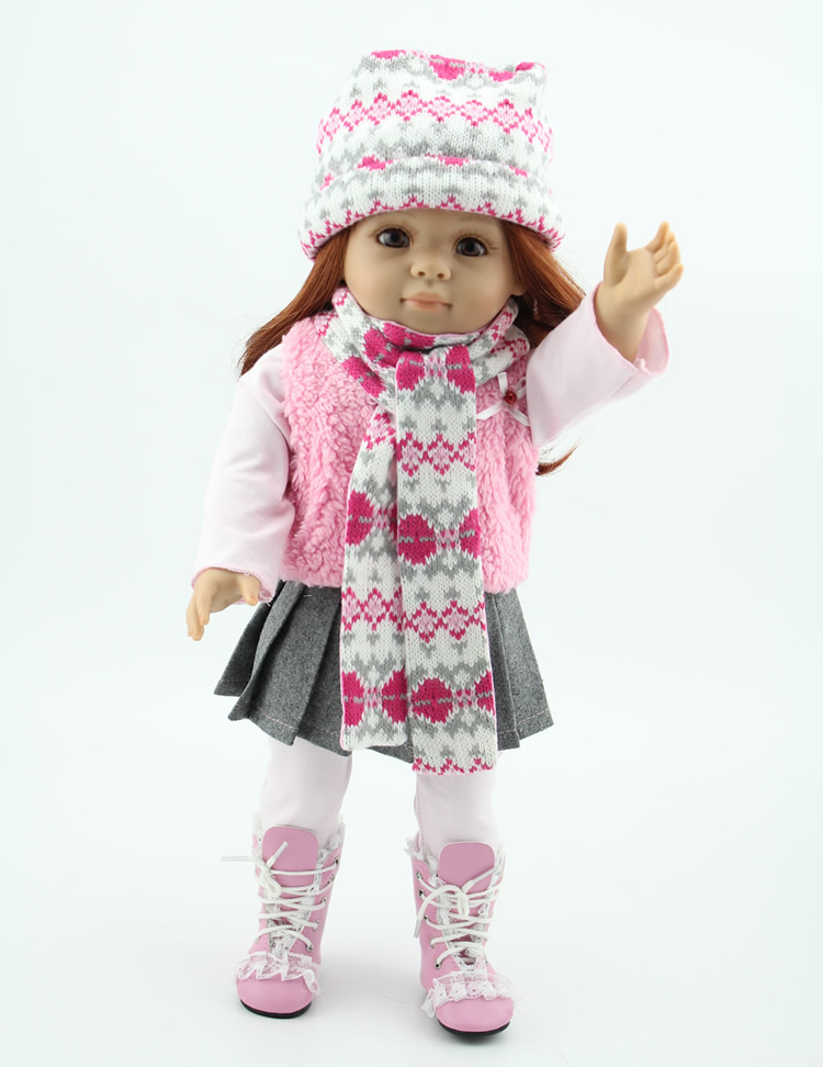 "New design 2015 popular new style 18 ""American Girl doll"
