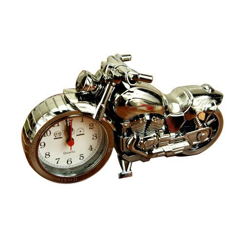 Big Motorcycle alarm clock shape creative retro super cool gifts upscale furnishings boutique home decor(China (Mainland))