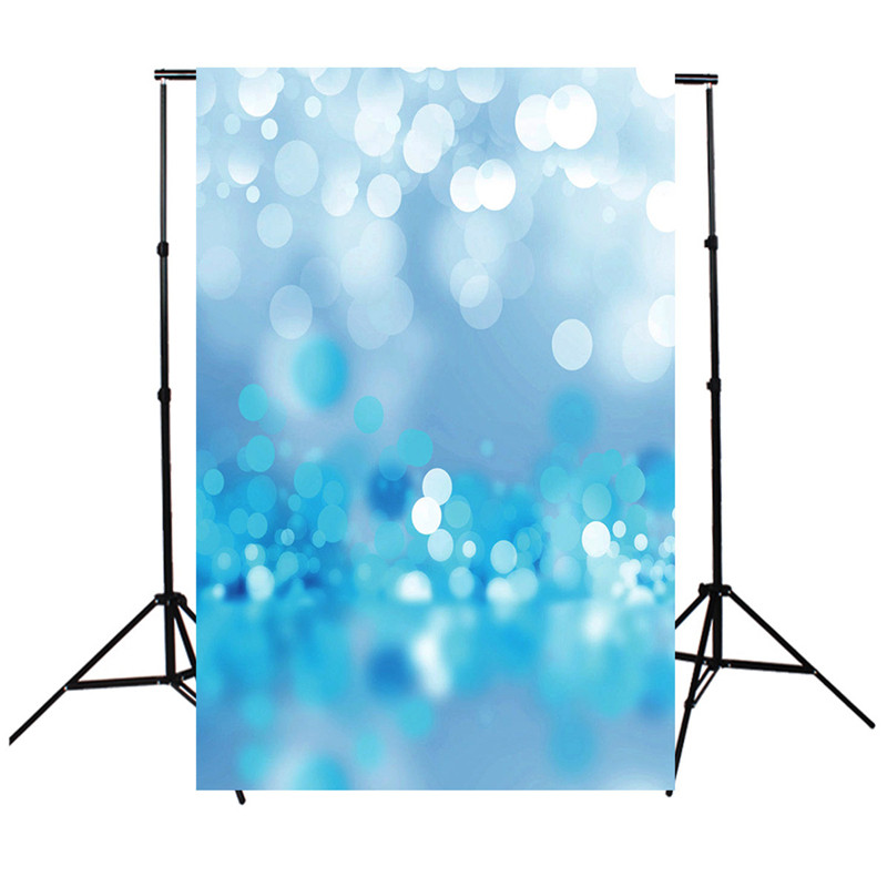 3x5FT professional Vinyl kids Photography Backdrops photo Studio Props Blue dream Bulbs Photography background cloth 100x150cm(China (Mainland))