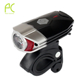 PCycling New 3W USB Chargable Headlight 300 Lumen Super Bright Night Lighting Safety Cycling Bike Bicycle