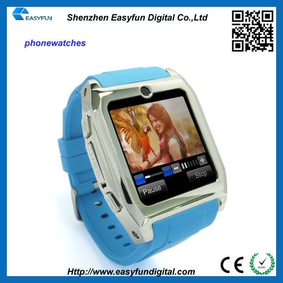 On sell wrist watch Low price Bluetooth Fashion Watch Mobile Phone 1month time(China (Mainland))