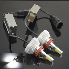 Buy 2pcs H1 H3 H4 H7 H11 80W 6000K 12V/24V LED Headlight Conversion Kit Head Car Xenon White Lamp High Low Kit Globes Bulbs Light for $27.88 in AliExpress store