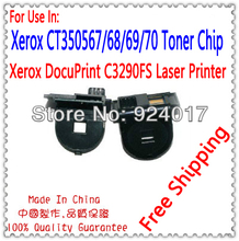 Compatible Xerox C3290 C3290FS FS Toner Reset Chip,Toner Refill Chip For Xerox For Xerox CT350567 CT350568 CT350569 CT350570