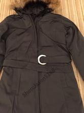 2016 Livraison gratuite Canada femmes Hiver chaud Respirant manteau en Duvet D'oie veste Loup col de fourrure des femmes Vers Le Bas veste Whistler Parka(China (Mainland))