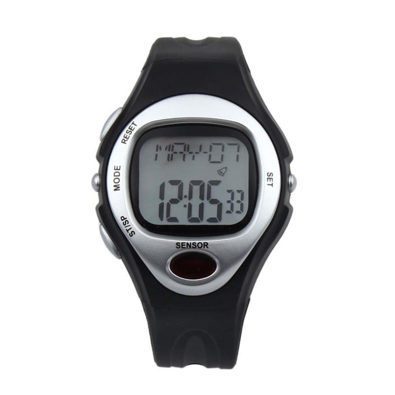 Hot Marketing 2016 Digital LCD Pulse Heart Rate Monitor Calories Counter Fitness Watch F16(China (Mainland))