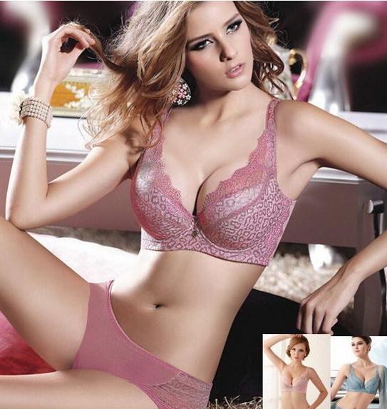 Women Lace bra d cup Leopard 75 80 85 90 Pad Brassiere Push Up Female Bras Underwear Bralette Bandeau Top Bodi Lingerie wear(China (Mainland))