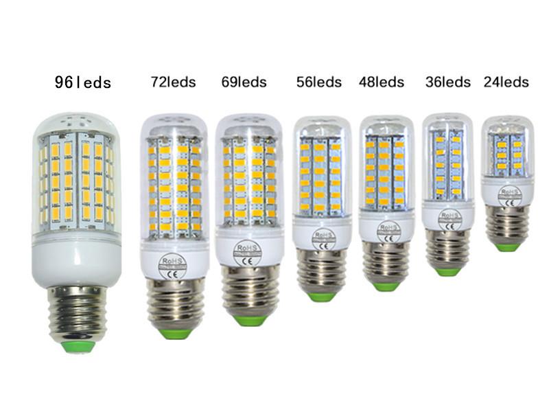SMD 5730 E27 LED Lamp Corn lamp 7W 12W 15W 20W 25W 30W AC 220V floodlight chandeliers(China (Mainland))