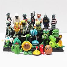 Buy 10Style Plants vs Zombies PVC Action Figures PVZ Plant + Zombies Collection Figures Toys Best Gift for $13.58 in AliExpress store