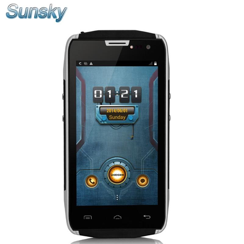 Original DOOGEE DG700 TITANS 2 IP67 CM11 OS Waterproof MTK6582 Mobile Phone Android 5.0 4.5inch 1GB 8GB 5MP 3G OTG 4000mAh(China (Mainland))