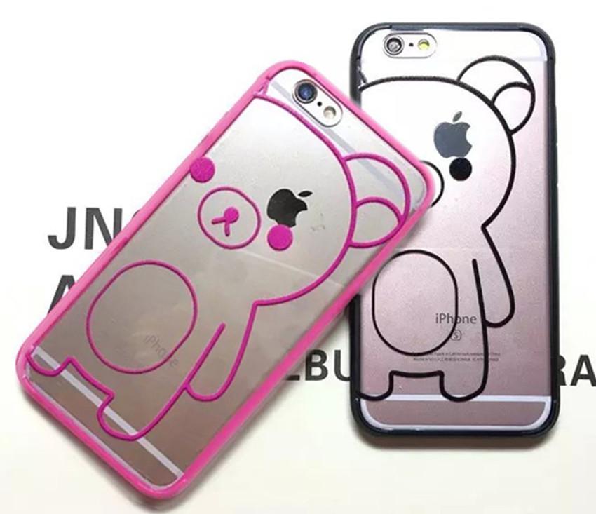 """Rilakkuma Case For Coque iPhone 6 plus Case Silicone & Plastic Carcasa Fundas For Capa Para iPhone 6s plus 5.5"""" Cases Capinha(China (Mainland))"""