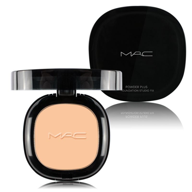 New MRC Powder Plus Foundation Soft and Gentle Matte Face Pressed Powder Foundation Studio Fix Maquiagem Makeup Free Shipping(China (Mainland))