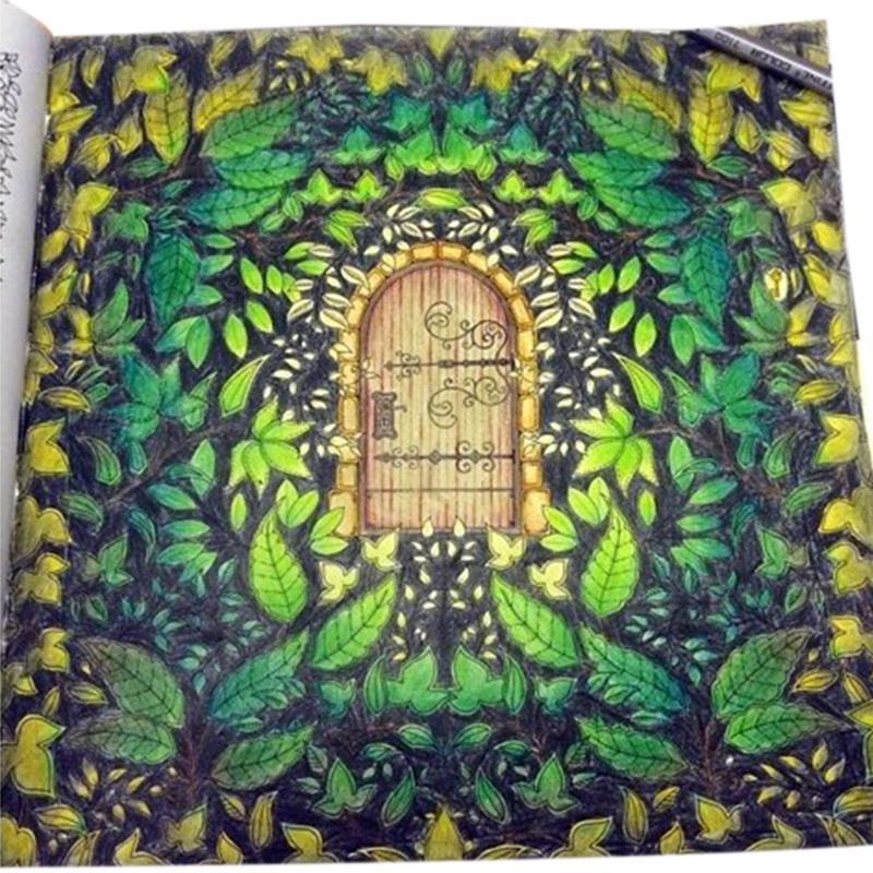 Beautiful The Secret Garden Coloring Book Photos