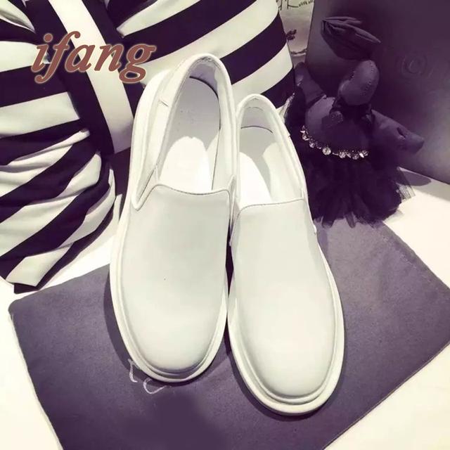 Весна и осень 2016 женская обувь квартир женщин высших мода обувь женщины утешить мокасины блеск ленивый обувь мода стиль