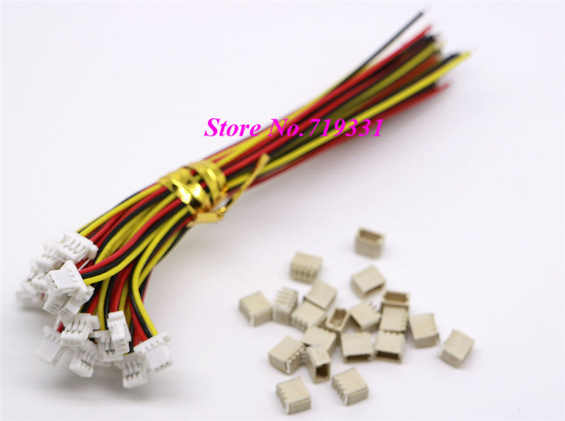 50 Pairs Mini Micro SH 1.0 3-Pin JST Connector with Wires Cables<br><br>Aliexpress