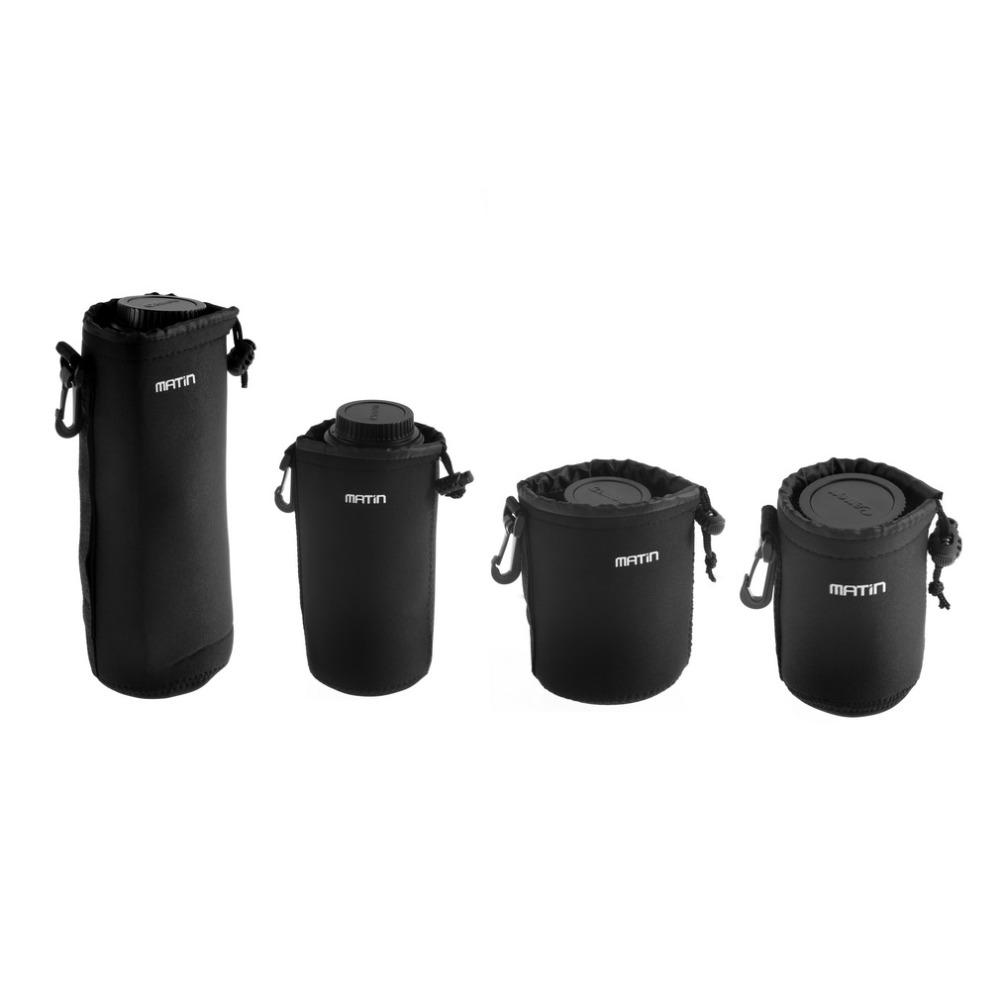 Matin Neoprene waterproof Soft Camera Lens Pouch bag Case Size S YKS(China (Mainland))