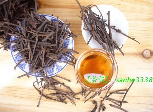 Здесь можно купить  Anhua black tea tea Chen Tianzhi 1986 Square pointed climax days old stick tea 500g black tea stems  Еда