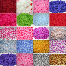 Free shipping 100pcs/lot Wedding Decorations Fashion Atificial Flowers Polyester Wedding Rose Petals patal(China (Mainland))