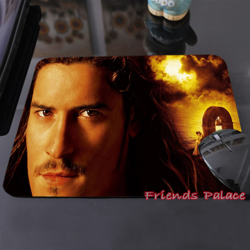 Create Your Own Style Vintage Mouse Pad Orlando Bloom Will Turner Pirates of the Caribbean Computer Custom-made Mouse Mat Pad(China (Mainland))