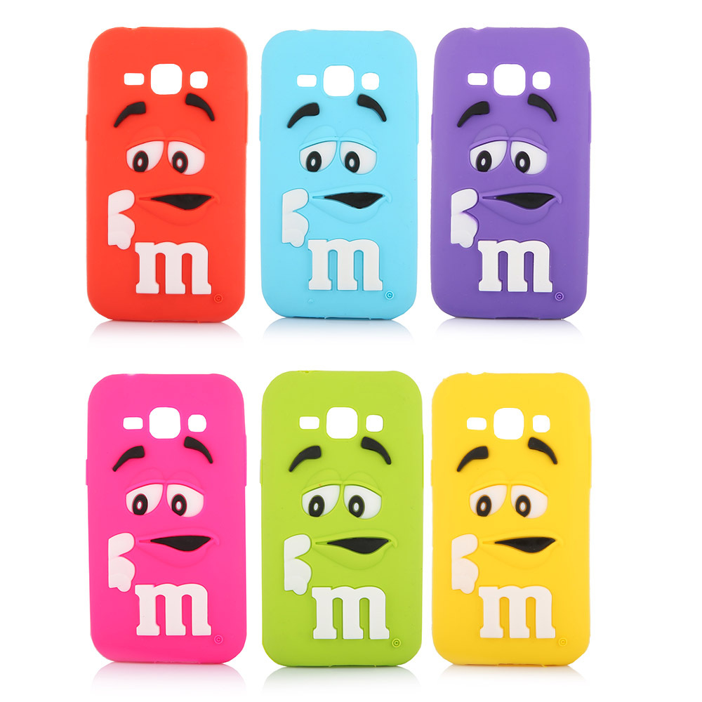 3d cute cartoon for samsung galaxy j1 case cover m m 39 s for 3d decoration for phone cases